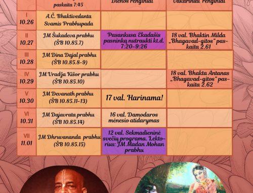 Savaitės kalendorius