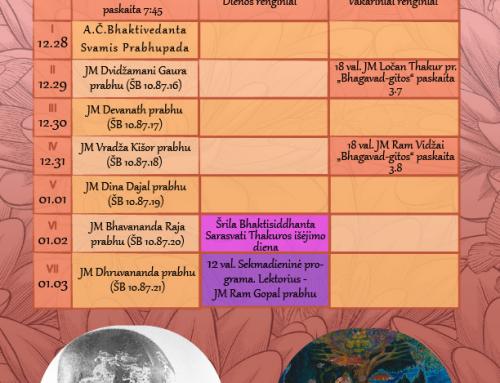 Savaitės programa (12.28-01.03)