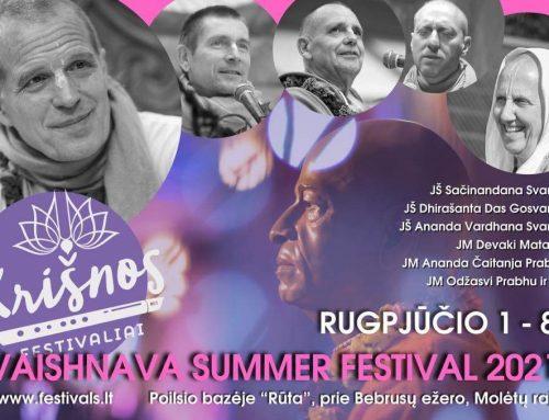 Vaišnavų Vasaros Festivalis 2021