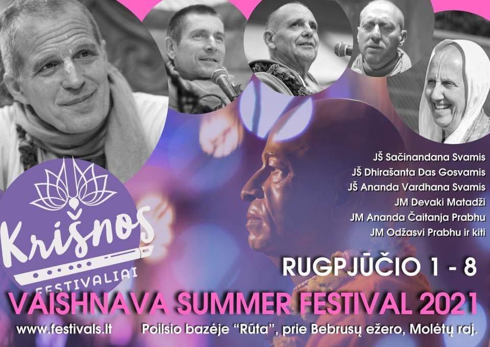 vaisnavu vasaros festivalis