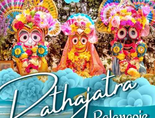 Rathajatra Palangoje! per jūros šventę