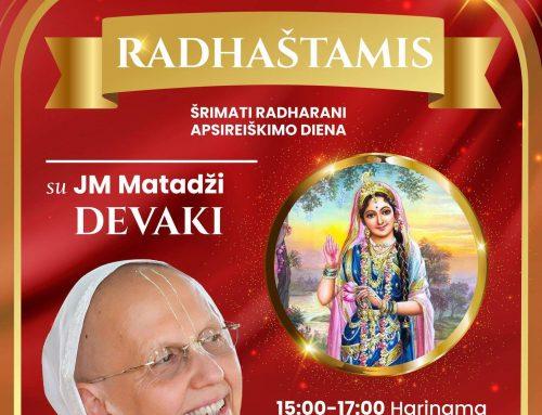 Šrimati Radharani apsireiškimo diena