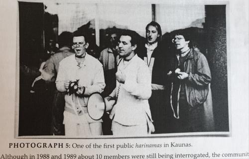 Viena iš pirmųjų Harinamų Kaune, dar Sovietų sąjungos laikais.
