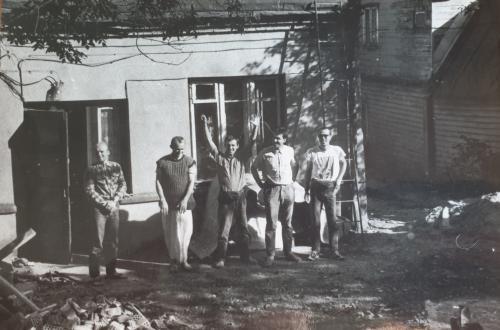 Kauno šventyklos Savanorių pr. 37 istorijos pradžia.